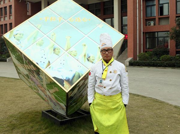 陈辉:初中毕业学厨师就选安徽新东方