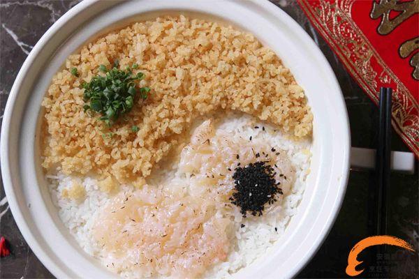 龙虾汤香米泡饭
