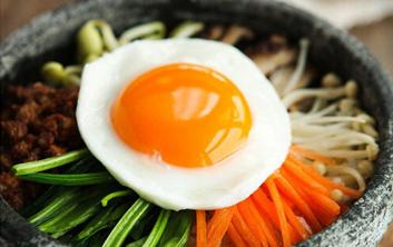 韩式料理系列之石锅拌饭