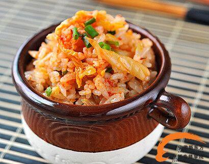 韩式料理系列之韩式泡菜炒饭