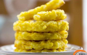 蒜香南瓜米饼