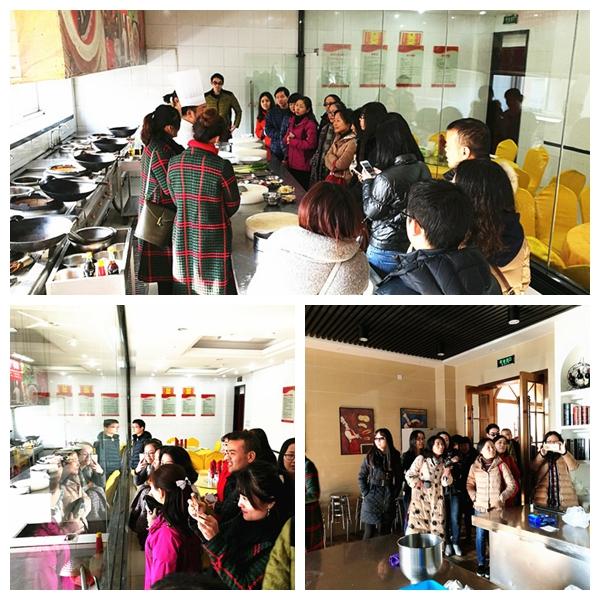 提升美食技艺——安徽省建筑设计院来我院团体培训