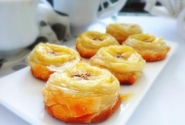 飞饼香蕉卷