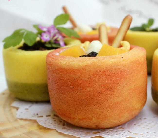 彩色杯子蛋糕