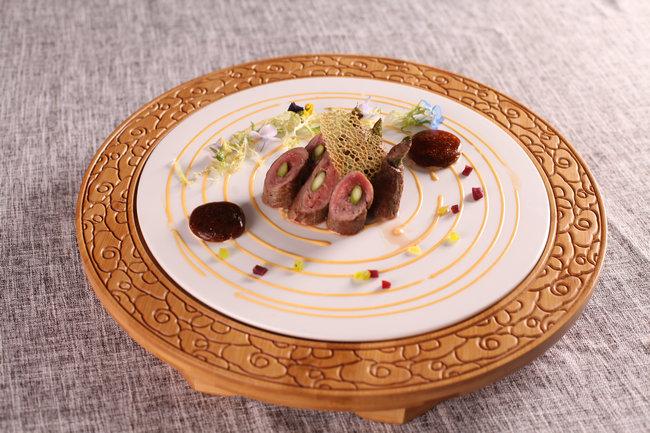 牛肉卷芦笋