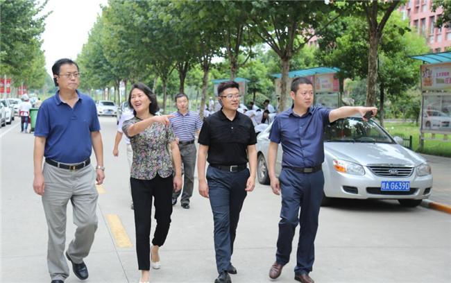 人社部及省厅、省鉴定中心领导莅临安徽新东方参观指导