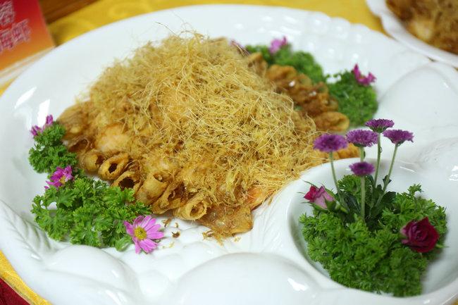 金丝蓉盖海虾