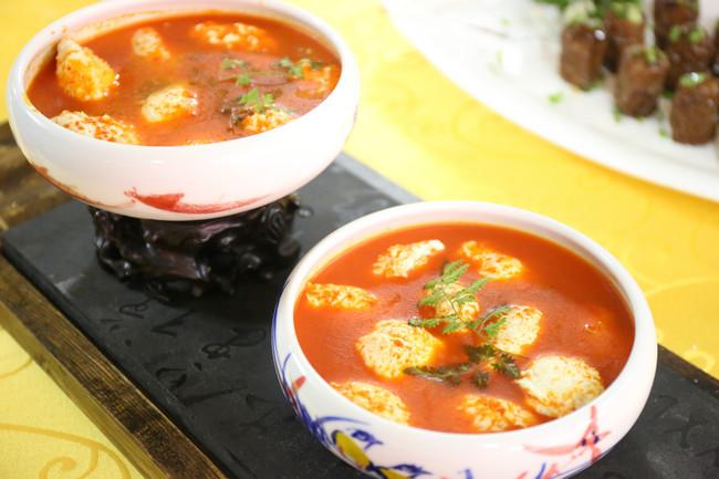 茄汁鱼丸浓汤