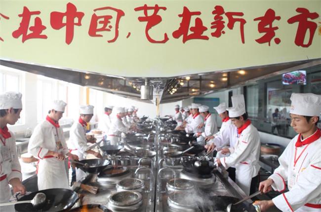 学厨师就到安徽新东方