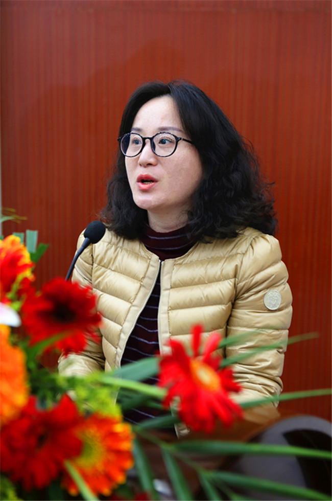 青菁餐饮管理有限公司人力资源总监杨萍发言