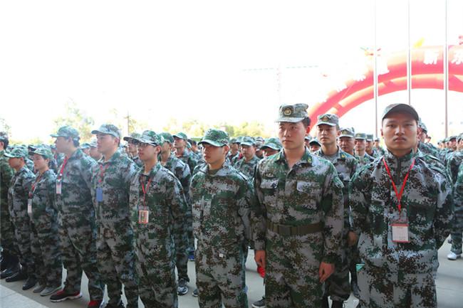 安徽新东方2018春季新生军训启动仪式隆重举行