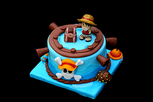 翻糖蛋糕作品