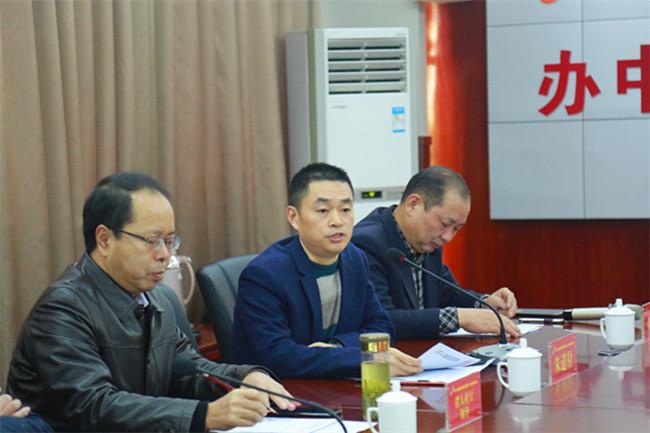 安徽新东方烹饪技工学校校长朱道付致欢迎词