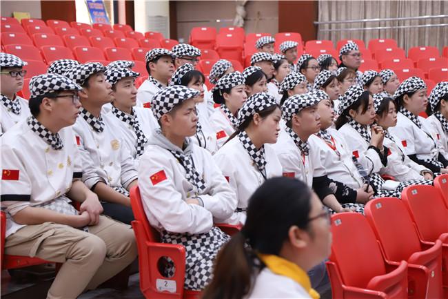上海85°C来我校招聘西点专业人才!