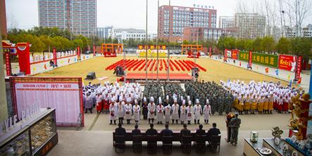 开学典礼 | 缘聚安徽新东方,开启人生新征程!