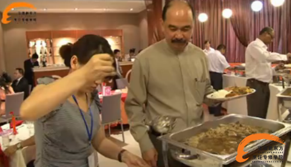 马来西亚美食节登陆安徽新东方烹饪学校