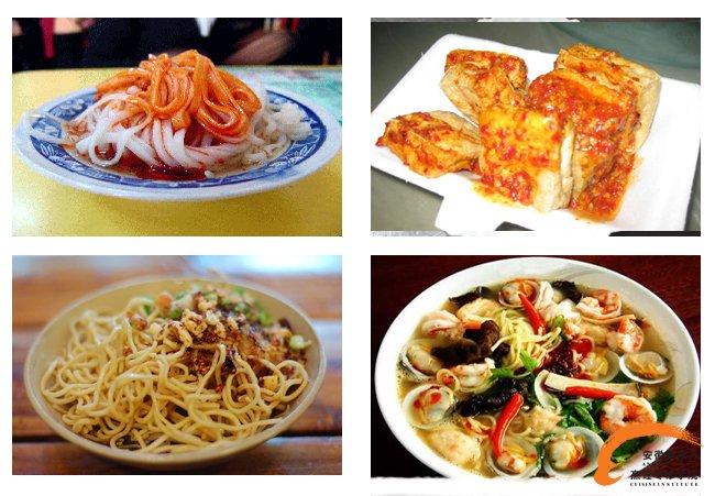 学特色风味小吃  就到安徽新东方