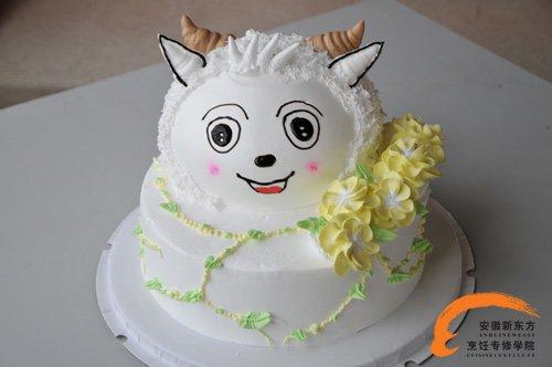 羊造型蛋糕图片