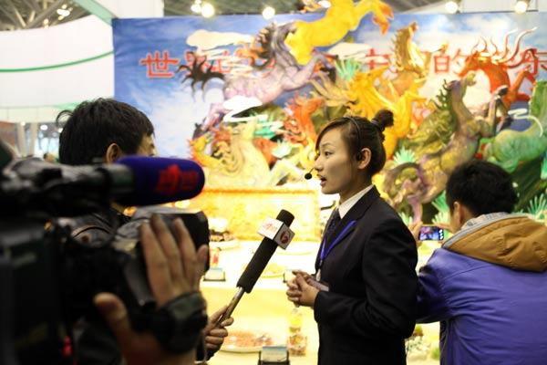 第三届合肥技工节开幕  安徽新东方师生现场亮绝活 展风采