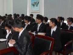 外婆家为安徽新东方西点七班学子举行专场招聘会